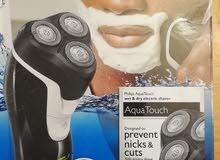 توصيل للمحافظات Philips Shaver AquaTouch ماكينة حلاقة جديدة نوع فيليبس شحن تعمل بدون سلك كهرباء