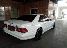 مرسيدس    SL500  كوبي لون أبيض 1998