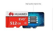 بطاقة ذاكرة أصلية هواوي عالية السرعة 512 جيجا 10TF