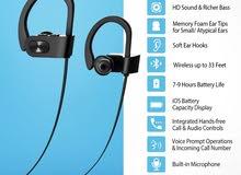 سماعة بلوتوث رياضيه /Bluetooth sports headset