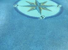 إستراحة خمس نجوم/بها حوض سباحة كبير/شاطئ القويعة