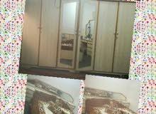 غرفة نوم خشب بحريني 6 باب نظيفة جدا
