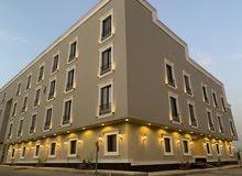 للبيع شقة فاخرة 3 غرف مع سطح المساحة 151.55م في حي عكاظ