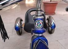 دراجة اطفال جديدة استعمال مرتين فقط،حديد قوي ،هاي كوالتي ، تصلح من عمر سنتين