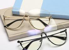 نظارات شفاف للبيع