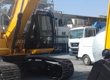 حفارة للعمل بشكل شهري مع خدمات موقع العمل excavator for monthly work