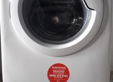 غسالة ملابس  Hoover اوتوماتيك 7كيلو لون ابيض  1600 لفة