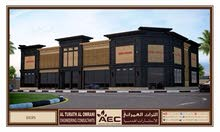 Big showrooms for rent prestigiousمعارض ومحلات للايجار بالعالية