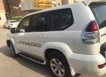 Toyota Prado 2005 For sale - White color