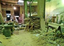 ارض للبيع مخصصة ورشة نجارة
