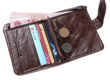 محفظة جلد طبيعي Genuine Leather Wallet