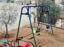 العاب حديد مراجيح وسحاسيل وسيسو ودويخة للحدائق والفلل والمطاعم والمدارس