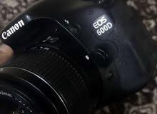 كاميره كانون 600 دي نضيف جدا