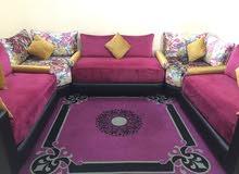 صالون سيجور سدادر طلامط طبالي زربية طبلة tapis canapé living room carpet table for sale