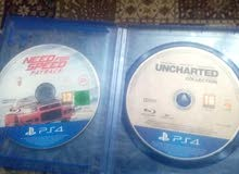 CD NEED FOR SPEED, +UNCHARTED
