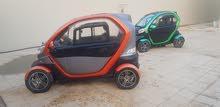 سيارتين كهربائيات للبيع  - تستعمل في الفلل والاحياء السكنيه