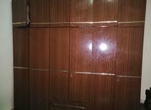 خزانة طابقين خشب لاتيه 100 ٪