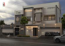 للبيع فيلتين في منطقة مقابة، مساحة الأرض 215.7 متر مربع