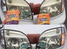 جلي المصابيح الامريكي headlight restore . us