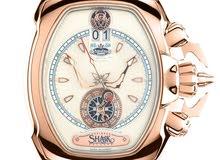 ساعة ديزاينر شيخ الاصدار المحدود - AstroDue MKI ivory Gold limited edition 130