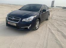 Subaru Impreza  model:2016