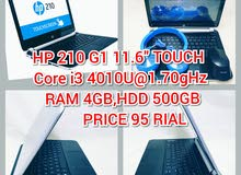 "HP 210 G1 - 11.6"" - Core i3 4010U - 4 GB RAM - 500 GB HDD"