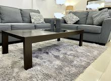 Sofa set (3+2+2) + Coffee table + Rug all for sale at great price!