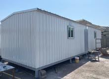 بيوت جاهزة للبيع : غرفتين مع مطبخ وحمام تصنع جاهز للشحن