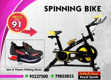 Royal : Spinning Bike & Free Shoes
