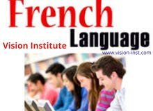 French Language Classes at Vision Institute. Call