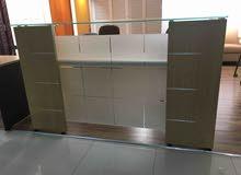 كاونتر مكتبي عرض ١٨٠سم مستعمل