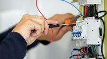 صيانة الإضاءة المنزلية و التمديدات الكهربائية