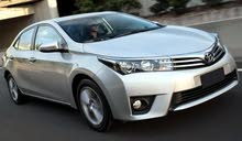 Toyota Corolla 2015 for rent per Day