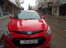 Automatic Red Hyundai 2016 for rent