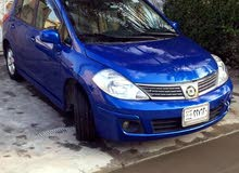 Nissan Versa 2009 For sale - Blue color