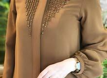 حجاب من نوع خاص صناعة تركية بني اللون