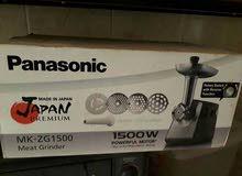 للبيع مفرمة لحمة كهربائية منزلية أصلية panasonic