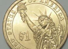 عملة أمريكية قديمة ينة 1829 للبيع
