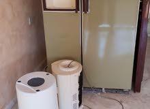 ثلاجة مستعملة بابين للبيع