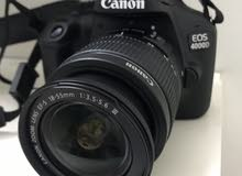 كاميرا كانون4000d جديده لم تستعمل