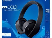 سماعة ps4 gold