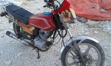 دراجة ناريه للبيع (مستعمله)