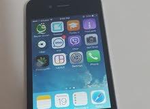 ايفون 4 iphone بطارية جديدة شاحن اصلي