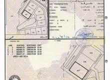 للبيع ارض سكنية كورنر مفتوحة من 3 جهات في العامرات جحلوت الاولى عند البيوت