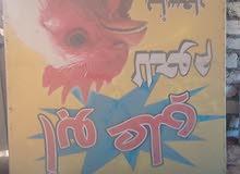 لافتات للمحل دواجن 2 متر الطول