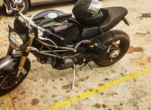 Used Ducati motorbike up for sale in Amman