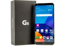 للبيع فقط هاتف LG g6  جديد