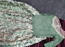 فستان سهرة قطعتين للبيع جديد