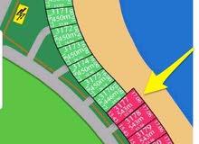 للبيع أرض في مدينة صباح الاحمد البحرية بالمرحلة الرابعة C  رقم القسيمة : 3177