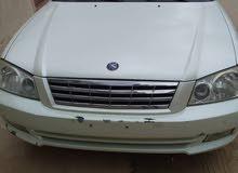 White Kia Optima 2002 for sale